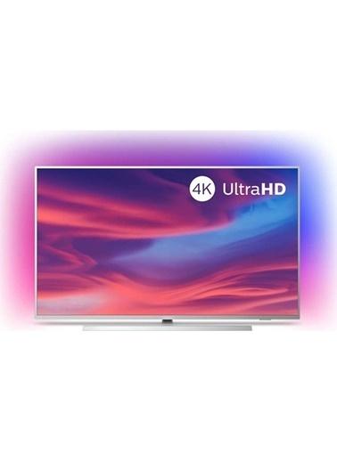 """Philips 55PUS7304 55"""" 139 Ekran Uydu Alıcılı 4K Ultra HD Android Smart LED TV Gümüş"""